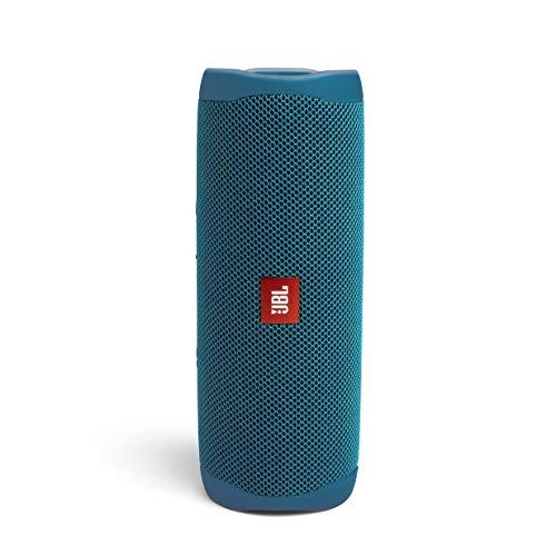 JBL Flip 5 Eco Edition Speaker Bluetooth Portatile, Cassa Altoparlante in Plastica Riciclata, Waterproof IPX7, Compatibile con JBL PartyBoost, Fino a 12h di Autonomia, Blu (Ocean)