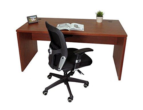Mesa de Oficina. Euro 2000. Color Nogal. 160x80 cm
