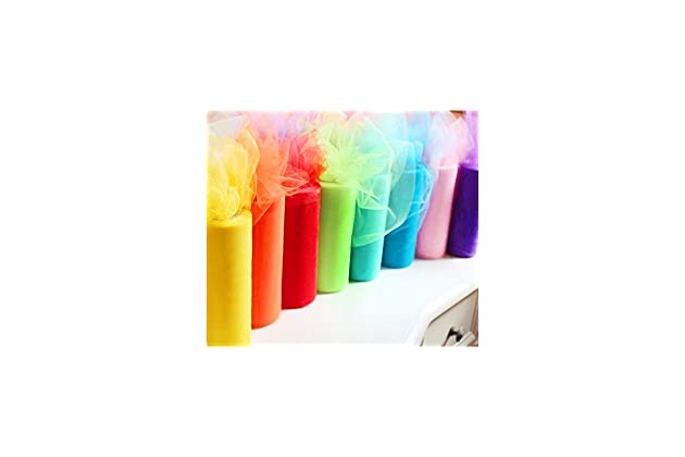 9ad0a2806cad0 Charmed Rainbow Color Tulle Assortment