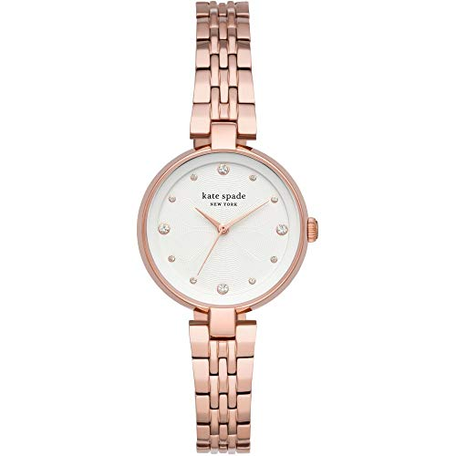 kate spade New York annadale Three-Hand Rose Gold-Tone Stainless Steel Strap for Womans Watch KSW1594