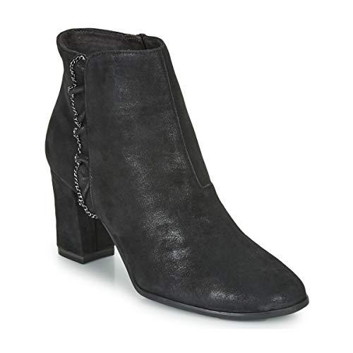 TAMARIS ESMERALDA Enkellaarzen/Low boots dames Zwart Enkellaarzen
