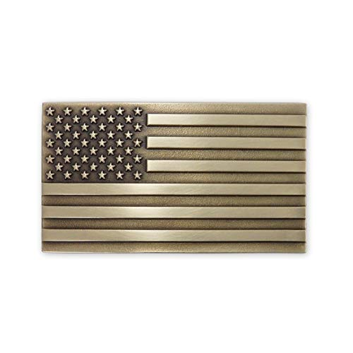Solid Brass Belt Buckle Made in USA