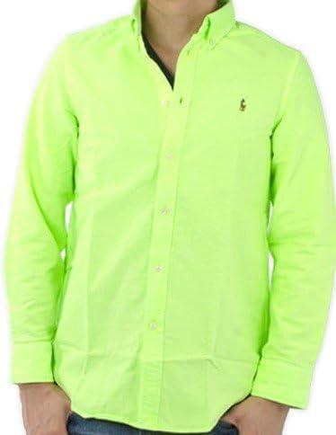Ralph Lauren verde lima botón abajo camisa verde verde lima 5 ...