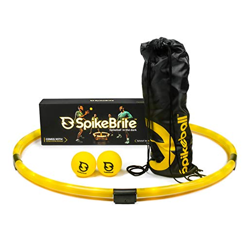 Spikeball SpikeBrite Accessory – Light-Up Set Attachment - Play at Night – Does Not Include Set