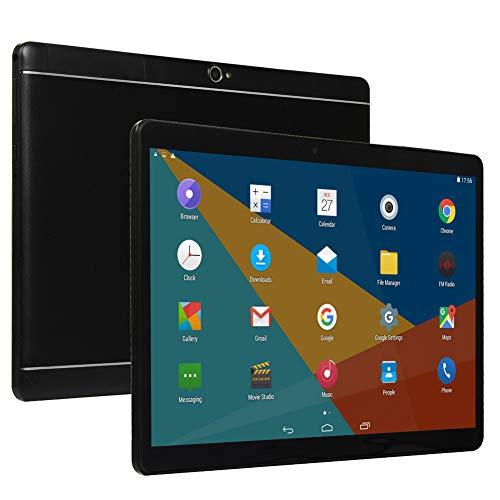 SSSY Tablet de 10' Full HD, 3G Android 4.4 Quad-Core Tableta Ultra-Portátiles, 2 GB de RAM, Almacenamiento de 32GB, cámara Dual de 2MP + 5MP, Wi-Fi, Bluetooth 2.1