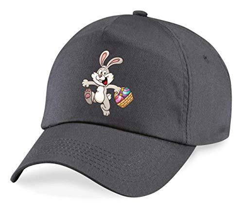 Cap - Kaninchen Cartoon Eierkocher Bunt - Basecap für Herren - Damen und Kinder
