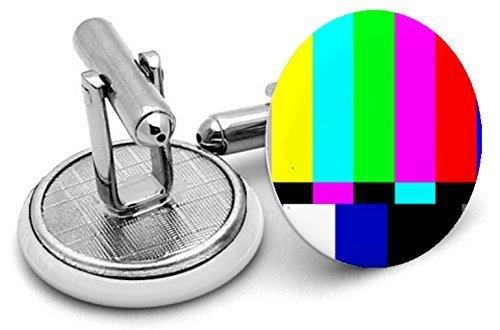 TV Test Card de type 2 manchette avec pochette en velours