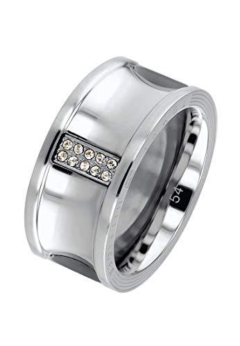 Tommy Hilfiger Anillo de mujer de acero inoxidable 54 plata 32000092