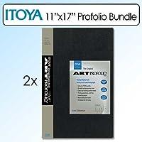 Itoya 11X17インチ アートサイズ 24シート アートプロフォリオ ポートレート 2パック