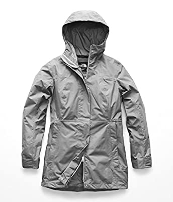 The North Face Women's City Midi Trench - TNF Medium Grey Heather - M by THE NORTH FACE