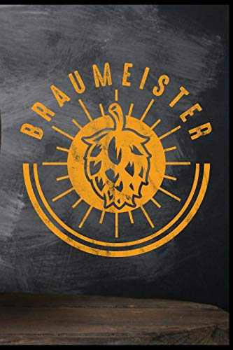 Braumeister: Bier Brauerei Fassbier Hopfen Bierflasche Biergarten Geschenk (6