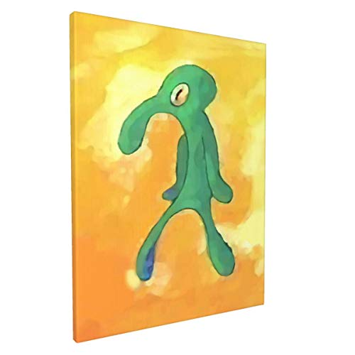 Serity Old Bold and Brash Modern Abstract Canvas Art Wall Decor Artwork Picture Oil Painting for Bedroom Living Room Bathroom Office Home Decoratio 12x16 inch(30x40cm)