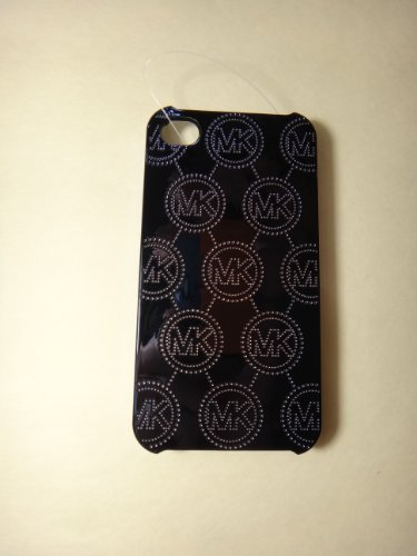 Michael Kors Monogram Embossed Iphone 4 & 4s Case Black