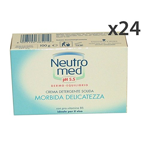 Set 24 neutrale PH 5.5 zeep 100 g Zeep en cosmetica.