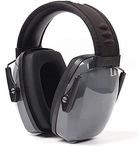 AACXRCR Sueño insonorizado Arecio Industrial Rúbrico Reducción Protectora Earjeturios cómodos (Color: Gris, Tamaño: 33DB) (Color: Gris, Tamaño: 33DB) (Color : Gray, Size : 33dB)