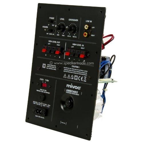 mivoc AM 80 MKII Subwoofer Aktivmodul 80 Watt RMS