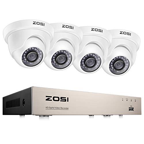 ZOSI 1080P CCTV Camera System 8 Channel H.265+ 1080P...