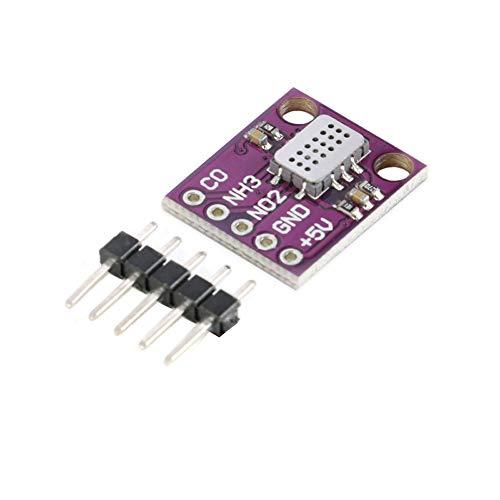 iHaospace MICS-6814 Gas Sensor Module Gas Detection Carbon Monoxide CO/Nitrogen Dioxide NO2/Ammonia NH3 Sensor for Arduino