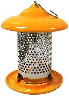 Heath Ceramic Bird Feeder Ceramic 1 Lbs. Orange