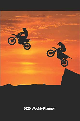 Plan On It 2020 Weekly Calendar Planner - Extreme Sports Dirt Bikes - Motorcycles Give Us Wings: January 2020 thru March 2021 15 Month Dated Agenda Notebook