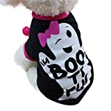 Longra Cool Cute Pet T Shirts Clothing Pequeño Puppy Costume Pet Delantal