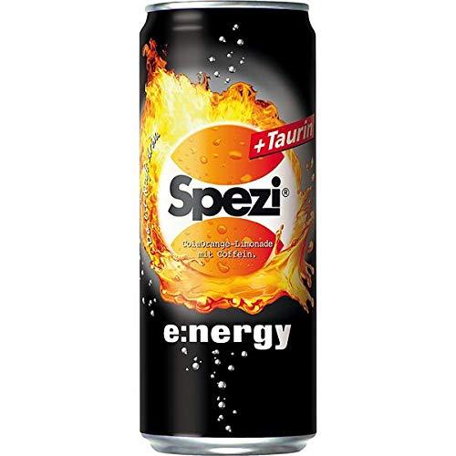 Spezi Energy + Taurin 24 x 0,33 Liter inkl. 6€ DPG EINWEG Pfand
