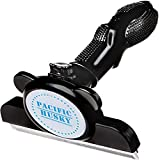 Pacific Husky Pet's Shedding Brush - Self Cleaning DeShedding Tool w/Fur Ejector,...