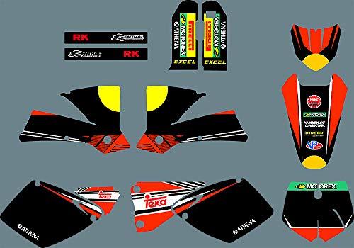 MXP Gráficos Personalizados Motocicleta Kit Gráfico Motorcross Pegatinas Dirt Bike Adhesivos para KTM SX 125 200 250 300 450 525 2001 2002