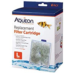 Fits Aqueon QuietFlow Filter: LED PRO Size 20 & up and E Internal 40 gallon Ready-to-use cartridge contains high quality activated carbon that keeps water clean, rinse before replacing Installs in seconds: align cartridge bottom key slot for an accur...