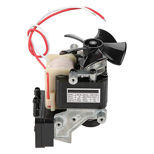 Ölfreie Vakuumpumpe - VN-20 Ölfreier Kompressor Motor Unterdruck Eingebaute Schalldämpferpumpe 220V 60W
