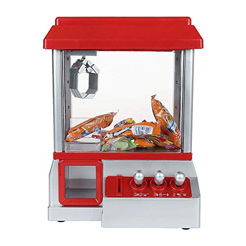 Chi Mercantile Mini Claw Machine Arcade Game Toy Electronic Candy Grabber Fun Action Music
