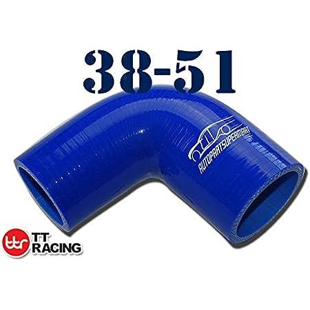 80mm ID 1.5 38mm 45-Deg Elbow Coupler 4mm Wall Thickness 0.16 Black Leg Length 3.13 3-Ply Autobahn88 Universal Automotive Silicone Hose