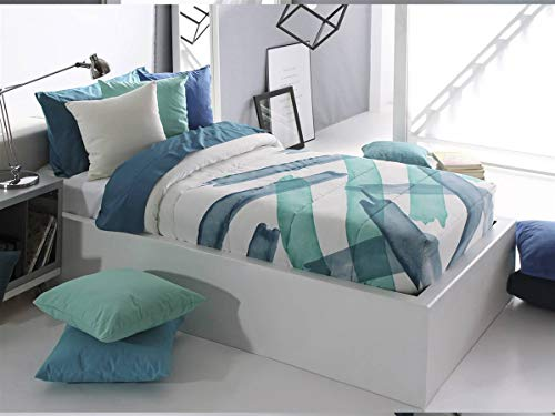 Reig Marti - Edredón Ajustable Aren AG Cama 90 - Color Azul C03