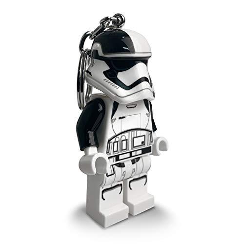 IQ Lego Star Wars First Order Stormtrooper Executioner Keychain Light - 3 Inch Tall Figure