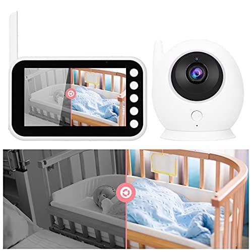 Baby Monitor, cámara de seguridad WiFi 8 LED IR para guardería para ancianos para hogar para niñera para mascotas para bebés(Transl)