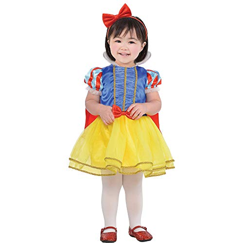 Suit Yourself Classic Snow White Halloween Costume for Babies, 6-12 M, Includes Dress and Headband