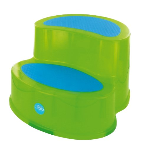 DBD Remond 307009 - Escabel infantil antideslizante, color verde