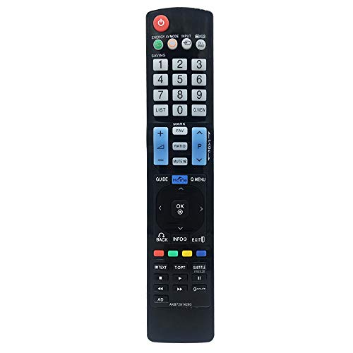 MYHGRC AKB72914293 Mando a Distancia Universal para LG LED LCD HD TV para LG Smart TV- No Requiere configuración Mando a Distancia para LG TV