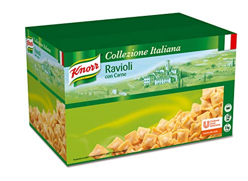 Knorr Ravioli con Carne caja de pasta seca de 3kg