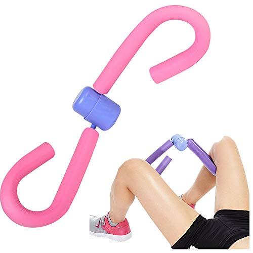 Dij Toner, Dij Master, Dij Toner Beentrainer Dij, Trainingsapparaat Home Gym Apparatuur Heupen Armen (Paars)