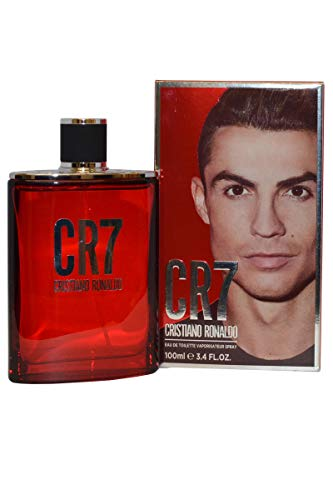 Cristiano Ronaldo - CR7 - Eau de Toilette Spray For Men - Aromatic Woody Fragrance With Notes of Bergamot, Sandalwood and Musk - 3.4 oz