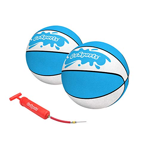 GoSports Water Basketballs 2 Pack - Choose Between Size 3 and Size 6 -...