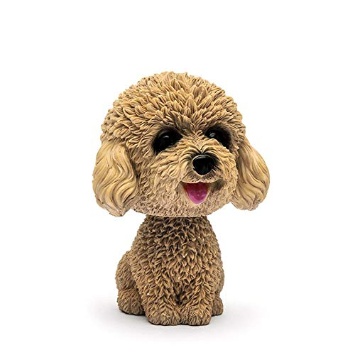 Vektenxi Cute Shaking Bobble Head Dog Car Vehicle Dashboard Ornament Home Desk Decoration Durable and Useful