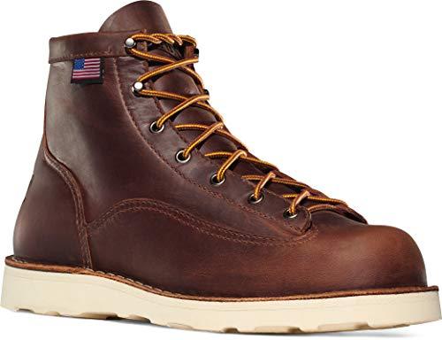 """Danner Men's Bull Run 6"""" Work Boot,Brown,10 D US"""