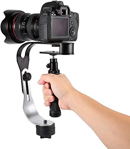 Mavis Laven Manija de estabilizador de Video Steadycam de Mano Pro Sujeción Soporte Constante para cámara de Video Cámara DV DSLR SLR Compatible con GoPro, Cannon, Nikon