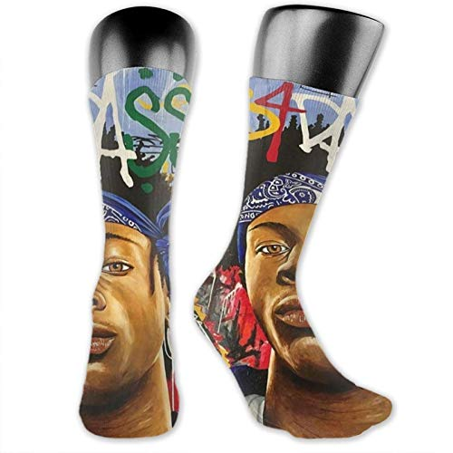 XCNGG Calcetines calcetines de becerro calcetines deportivos medias medianas Music Joey Badass Medium Stockings, Practical Breathable Non-Slip Fashionable Socks with Unique Patterns, Suitable for Men