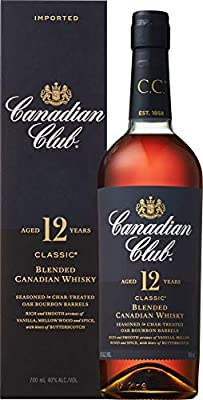 Canadian Club Classic 12 Jahre Whisky (1 x 0.7 l)