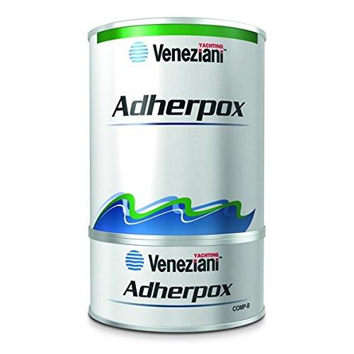 Veneziani Adherpox Primer epossidico bicomponente, colore: Bianco, size: 750 ml