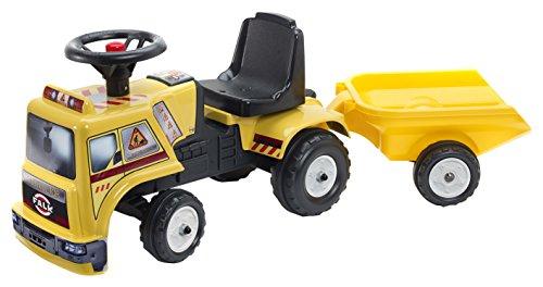 Falk falquet & CIE–1017b–Antideslizante Coche camión Obras para Baby–Amarillo + Colgante