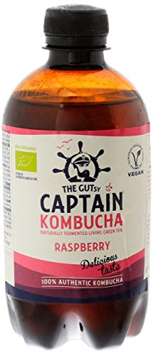 Captain Kombucha - California Raspberry - 400 mililitros